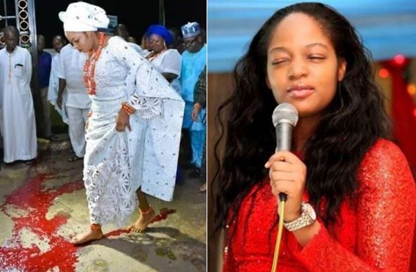 Ooni Of Ife's new wife blood ritual