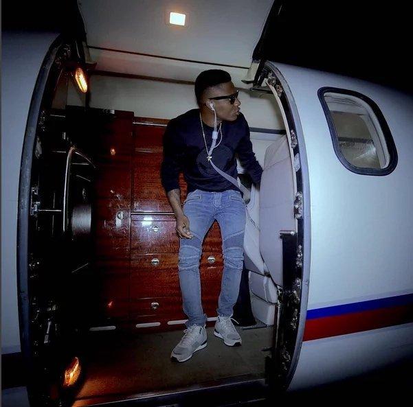 nigerian musician private jet