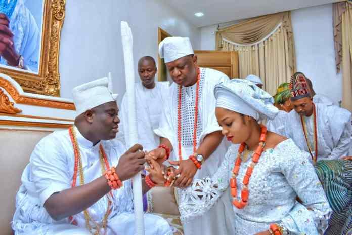 How Ooni of Ife met his wife