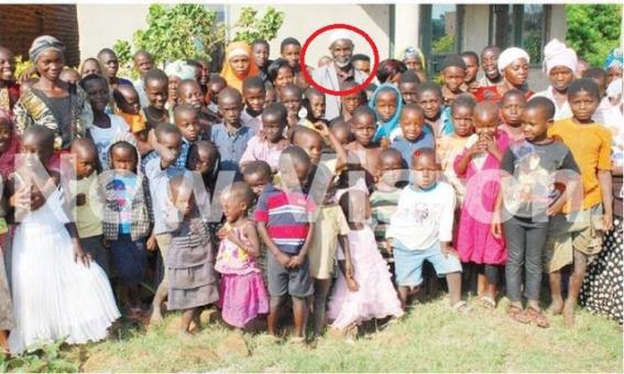 Man with plenty children
