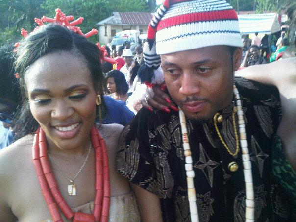 Mike Ezuruonye and his wife