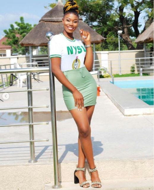 beautiful Nigerian lady