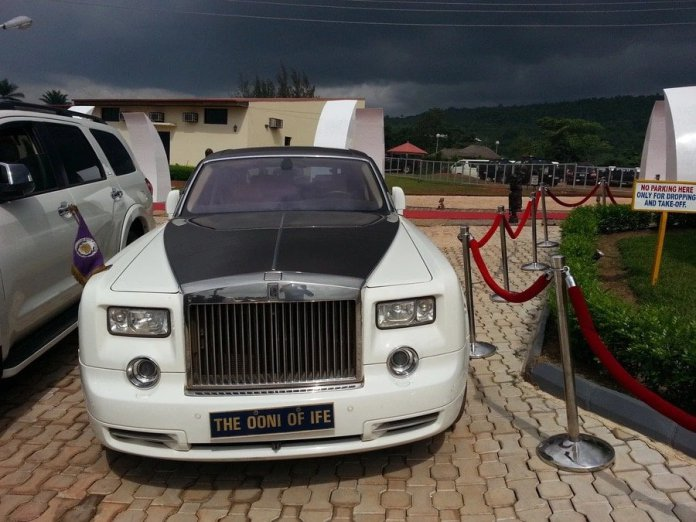 ooni of ife car