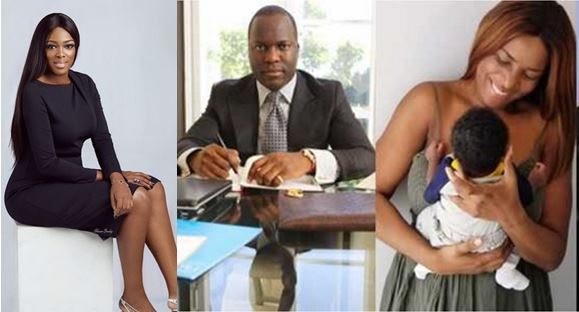 Meet Elizabeth Elohor, the beautiful model Linda Ikeji's baby, Sholaye Jeremy dumped her for