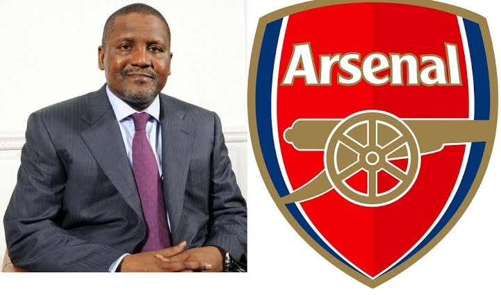 Dangote buying Arsenal