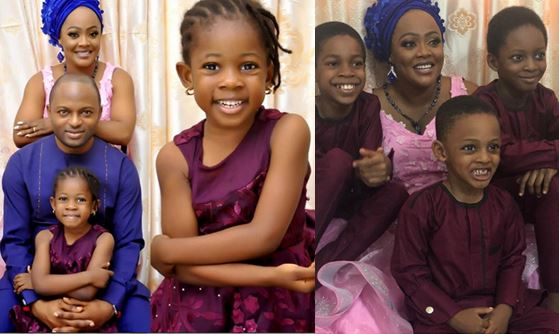 Comedian Helen Paul shares lovely photos of her husband and children