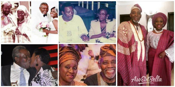 Olu Jacobs and Joke Silva throwback