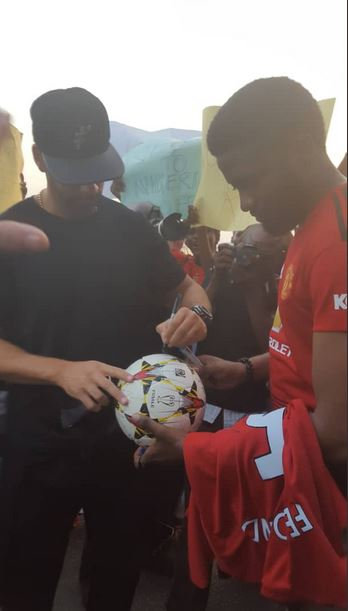 Rio Ferdinand in Lagos