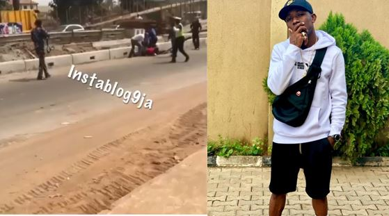 Video showing how Small Doctor was arrested by the police today
