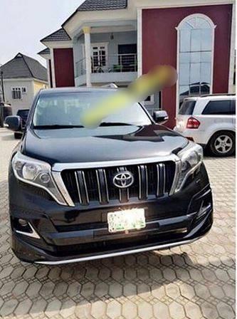 Mercy Aigbe car