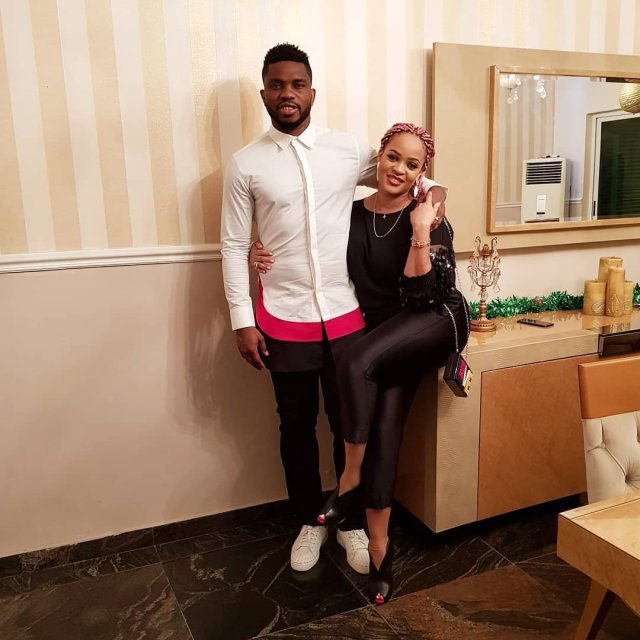 Joseph Yobo and wife
