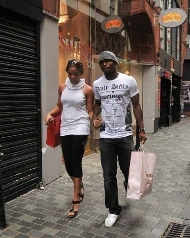 Joseph Yobo and wife