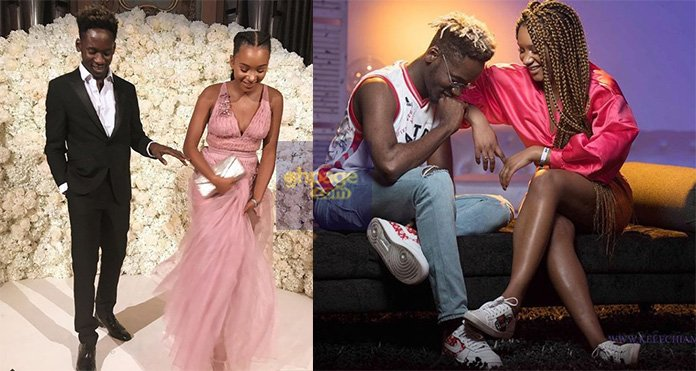Mr. Eazi and his beautiful billionaire girlfriend Temi Otedola