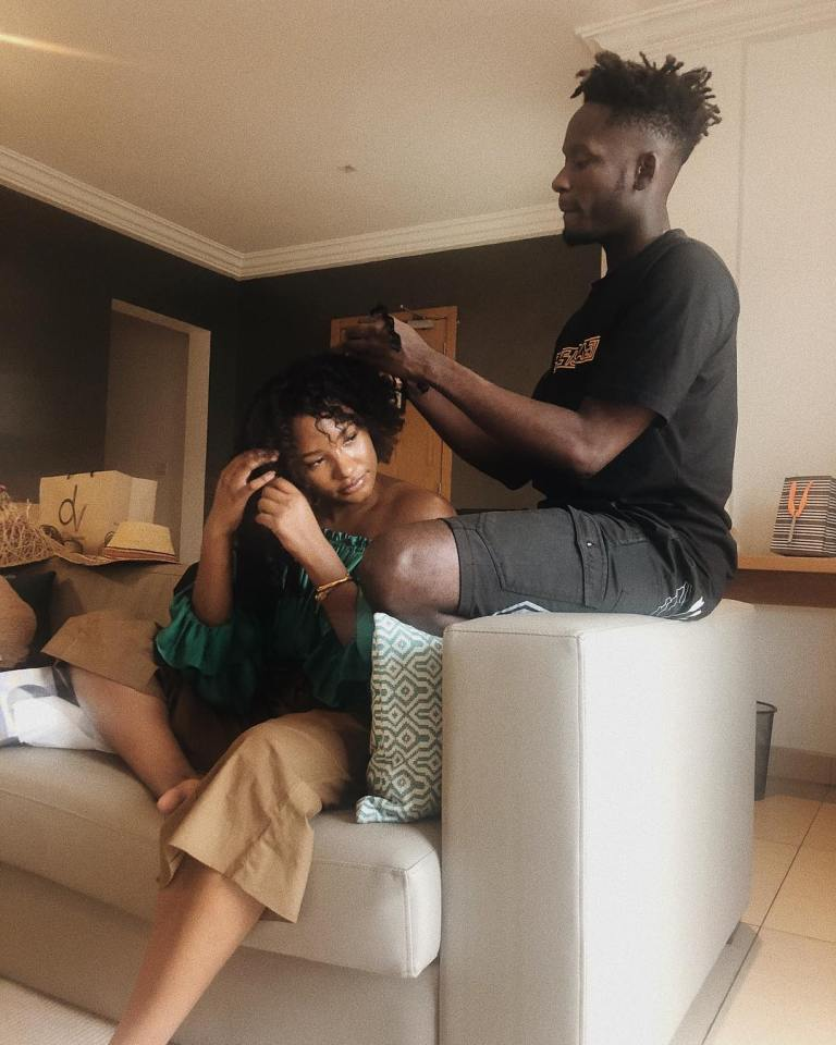 Mr Eazi and Temi Otedola