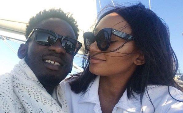 mr eazi and girlfriend