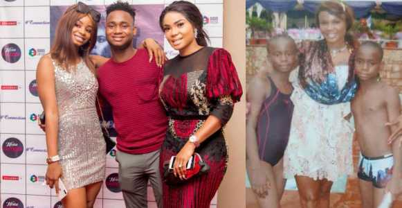 Iyabo Ojo shares epic decade-old throwback with her kids