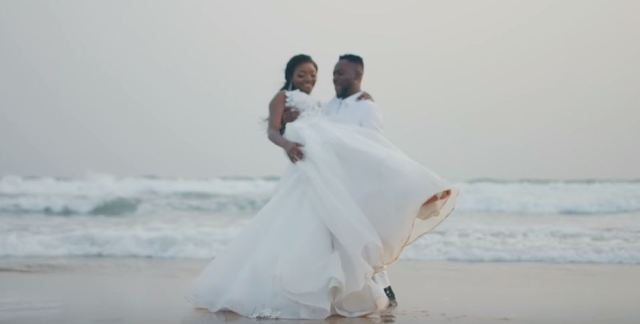 Adekunle Gold and Simi Wedding photos