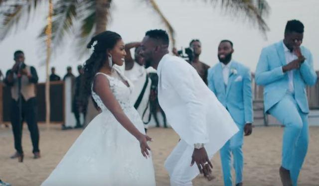 Adekunle Gold and Simi Wedding photos