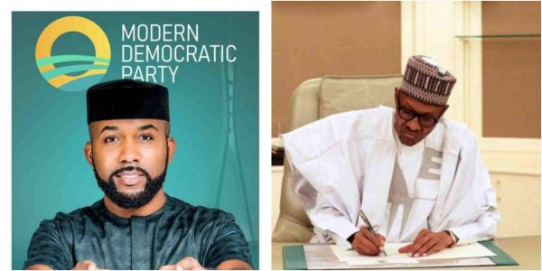 Banky W allegedly collected N57million from Buhari