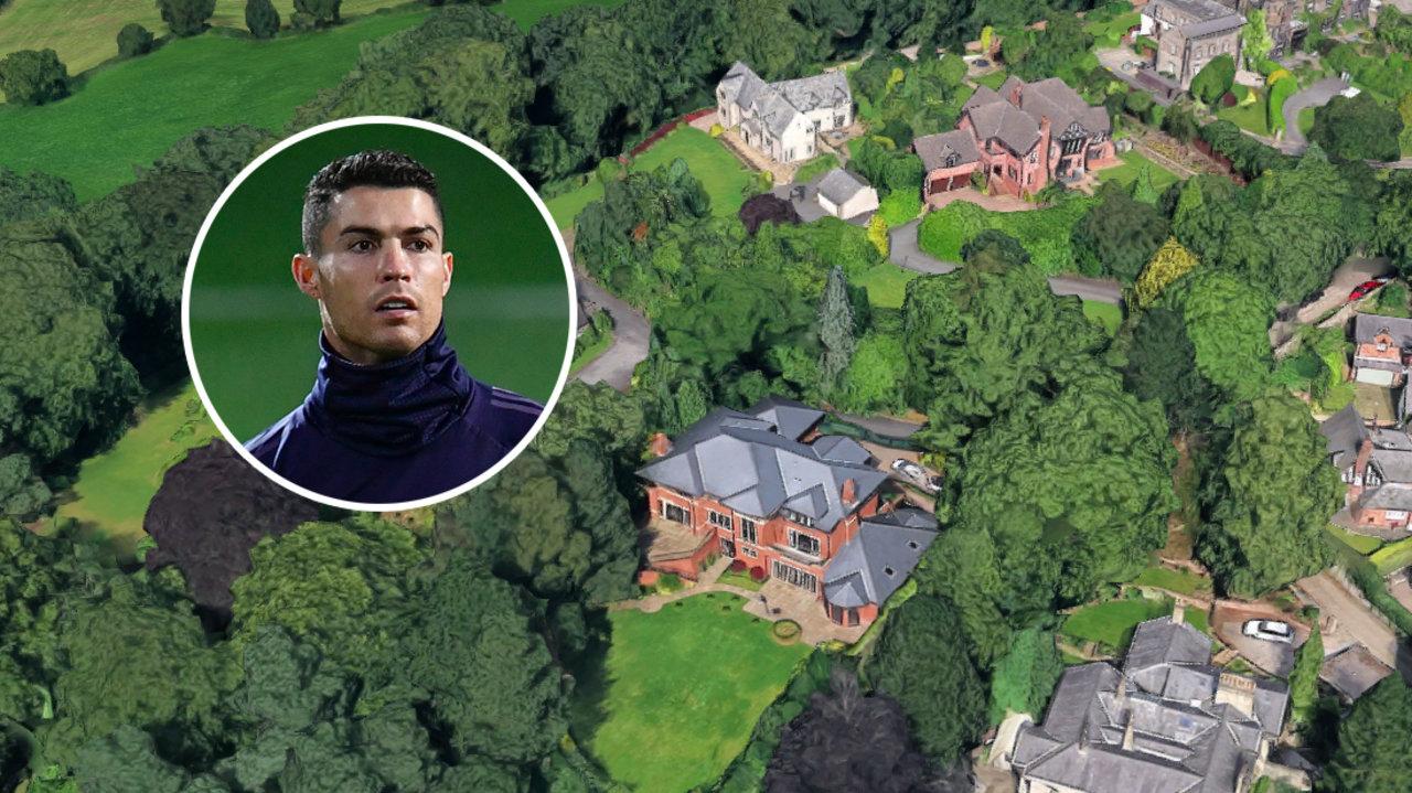 Cristiano Ronaldo mansion