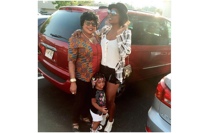 Annie Idibia gushes about her mum as she celebrates birthday - Her mum is so beautiful! theinfong.com 700x449