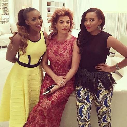 Nana Otedola & her beautiful daughters stun in new year photo - The resemblance is... theinfong.com