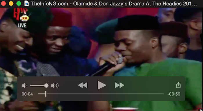 Olamide and Don Jazzy's beef theinfong.com