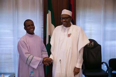 People are after Buhari's life, they want to kill him - Father Mbaka reveals theinfong.com