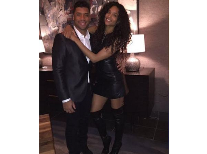 %22GOD sent me an Angel!!%22 Russell Wilson gushes over Ciara