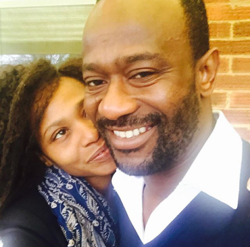 Actress Nse Ikpe Etim and husband all loved up in new photo theinfong.com