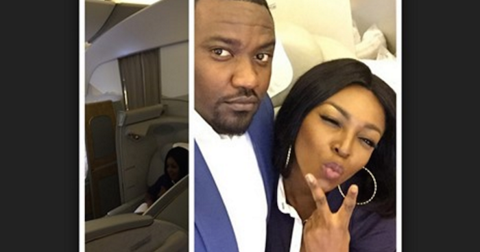 10 Ghanaian celebrity relationships you didn't know about - Yvonne Okoro and John Dumelo theinfong.com 700x367
