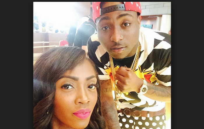 Top 10 Nigerian celebrities who were born rich but still hustle to make money for themselves - davido and tiwa theinfong.com 700x442