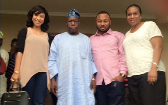 Did you know that ex president, Obasanjo is Tonto Dikeh's father in-law? - See this! (+Pic) 700x438 theinfong.com