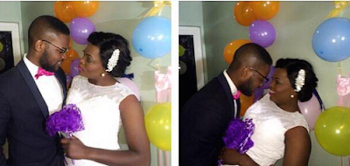 Beautiful photos of actress Funke Akindele wedding theinfong.com 700x333