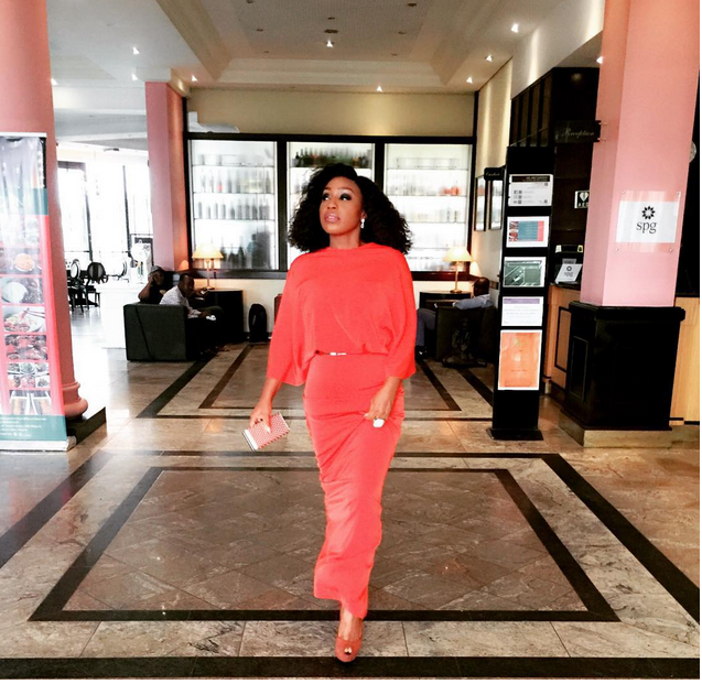 Rita Dominic stuns in red - Looking so radiant as always! (See Photos) theinfong.com