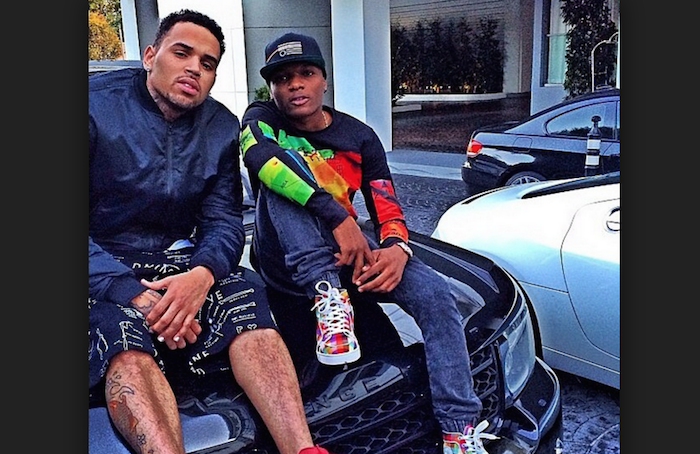 See how your favourite Nigerian celebs gained money and fame.. wizkid and chris brown theinfong.com - 700x454