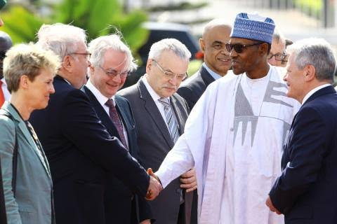 president buhari and germany president theinfong.com