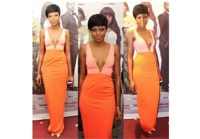 No Bra Day: 22 celebrities who stepped without wearing bra - yvonne nelson theinfong.com 700x485