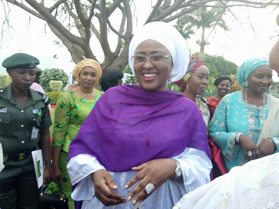 Photos- Aisha Buhari hosts Nigerian women and wives of Diplomats in Abuja, discloses name of her pet project. theinfong.com