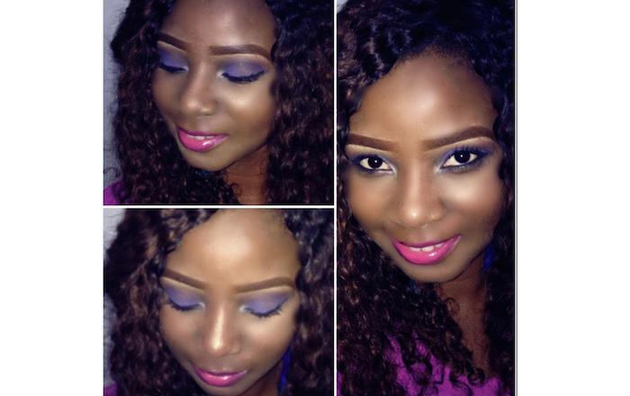 Genevieve Nnaji's daughter, Dora Nnaji now a make up artist in Yaba Lagos theinfong.com 700x440