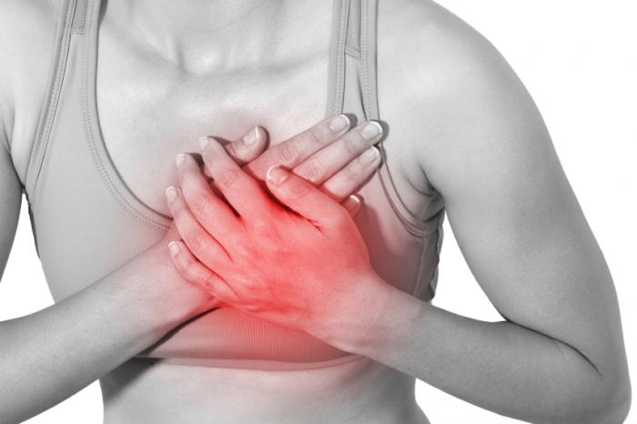 how to deal with breast pain - theinfong.com - 700x466