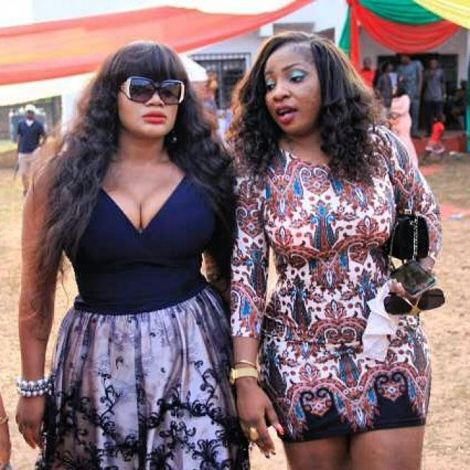 Actresses, Anita JosephaAnd Uche Ogbodo step out in style (See Photo)-theinfong.com