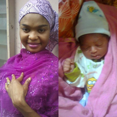 Nollywood actor gives birth 6 weeks after husband's death (Photos) theinfong.com