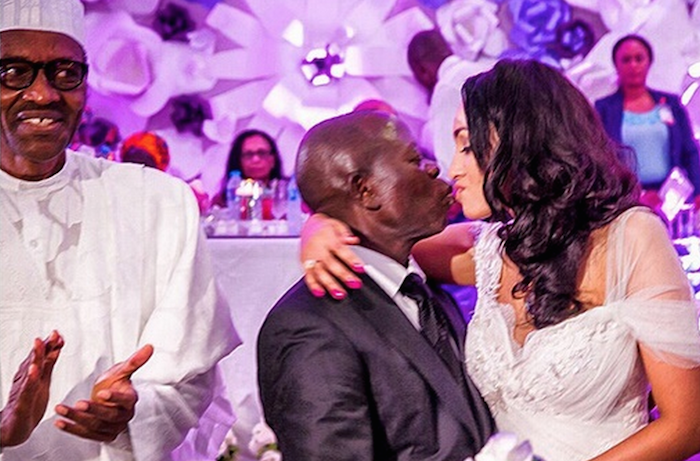 Oby Ezekwesili reacts to Adams Oshiomole's wedding 700x461 theinfong.com