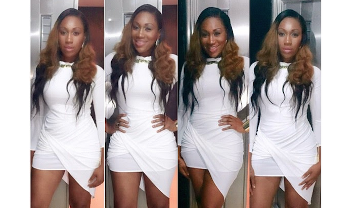 Actress Ebube Nwagbo stunningly hot in white - theinfong.com 700x411