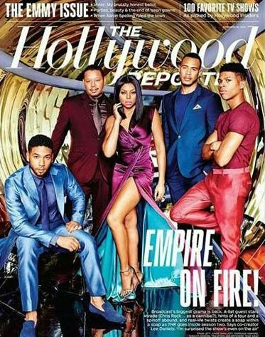 Empire cast cover latest issue of The Hollywood Reporter... -theinfong.com
