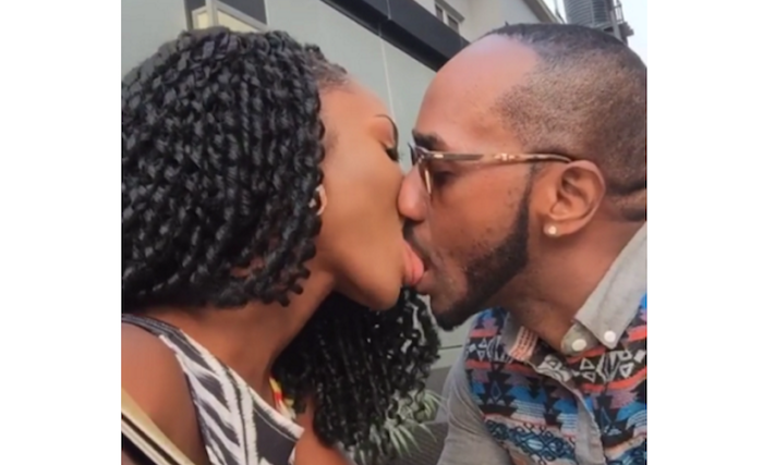 Eva Alordiah, slams ladies hating on her for sharing a video of herself kissing her fiance theinfong.com 700x427