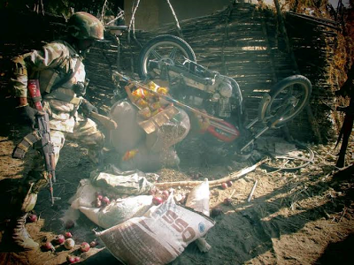 Nigerian troops destroy Boko Haram terrorist camp in Sambisa and Alagarno forests theinfong.com