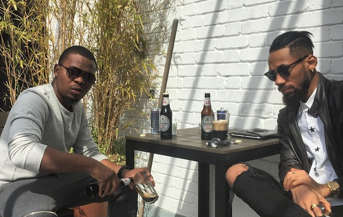 Photos: Olamide and Phyno chilling like bosses in London, Uk 700x443 theinfong.com