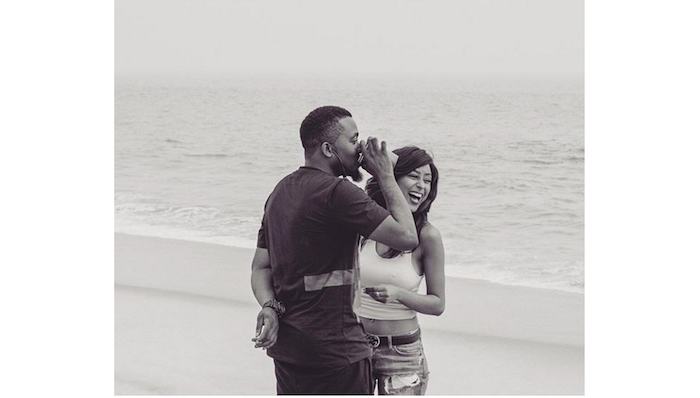 How Nigerian Celebrities Celebrated Their 2016 Valentine (PHOTOS) Ice Prince and maima girlfriend 700x398
